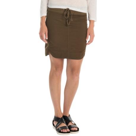 XCVI Sosi Stretch-Poplin Skirt (For Women)