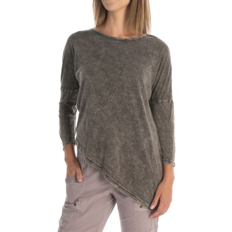 XCVI Aimee Shirt - Scoop Neck, 3/4 Sleeve (For Women)