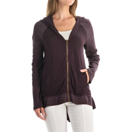 XCVI Kohar Hoodie - Full Zip, V-Neck (For Women)