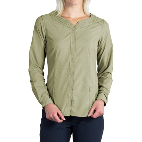 ExOfficio Dryflylite Blouse - UPF 30+, Long Sleeve (For Women)