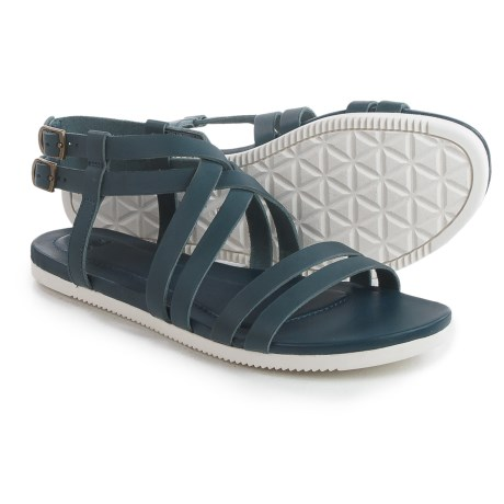 Teva Avalina Crossover Leather Sandals (For Women)