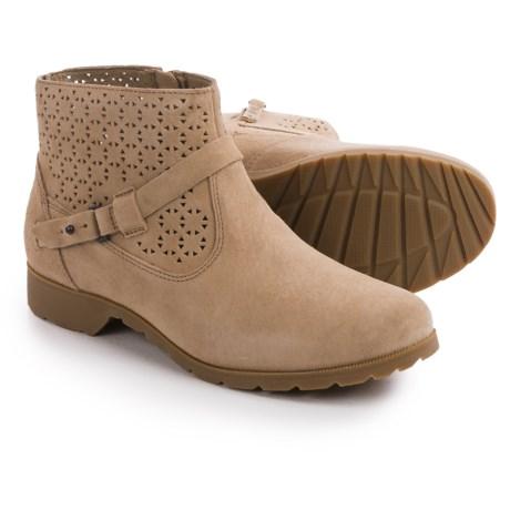Teva De La Vina Ankle Perf Boots - Suede (For Women)