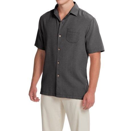 Tommy Bahama Pacific Square Shirt - Silk-Cotton, Short Sleeve (For Men)