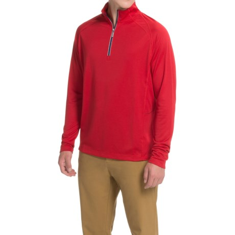 Tommy Bahama New Firewall Shirt - Zip Neck, Long Sleeve (For Men)