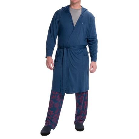 Tommy Bahama Cotton-Modal Jersey Bathrobe - Long Sleeve (For Men)