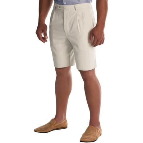 Tommy Bahama Flying Fishbone Silk Shorts (For Men)
