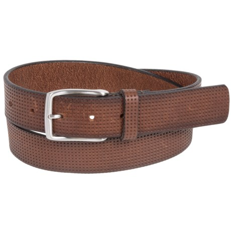Tommy Bahama Brindle-Cut Leather Belt (For Men)
