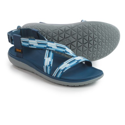 Teva Terra-Float Livia Sport Sandals (For Women) in Tacion Blue Multi - Closeouts