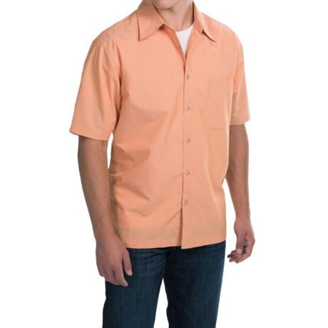 Vantage Single-Pocket Camp Shirt - Short Sleeve (For Men)