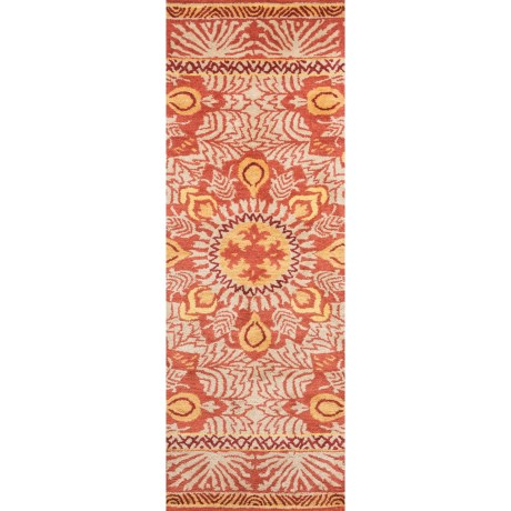 """Company C Patterned Floor Runner - 2'6""""x8', Tufted Wool"""