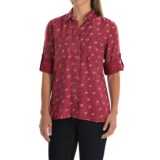 4OUR Dreamers Printed TENCEL® Shirt - Long Sleeve (For Women)