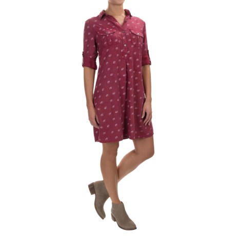 4Our Dreamers 4OUR Dreamers A-Line TENCEL® Dress - Long Sleeve (For Women)