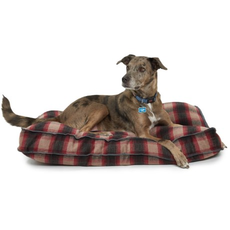 Telluride Cleo Harper Rectangle Dog Bed - Extra Large, 40x28""