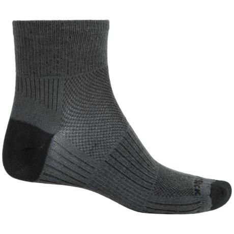 Wrightsock Coolmesh® II Running Socks - Quarter Crew (For Men and Women)