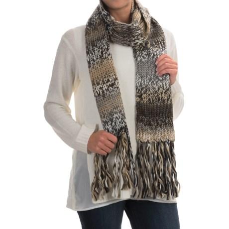 Betmar Multicolor Knit Scarf (For Women)