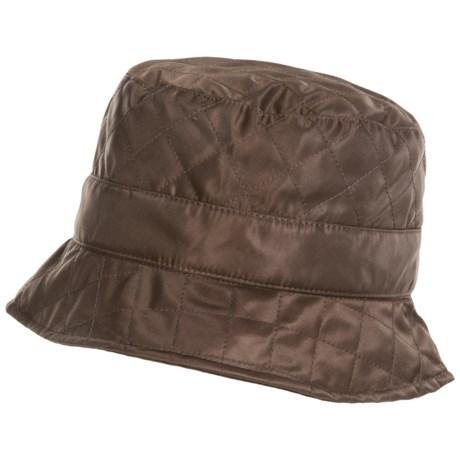 Betmar Quilted Bucket Hat - Fleece Lined (For Women)