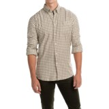 Barbour Monty Gingham Check Flannel Shirt - Long Sleeve (For Men)