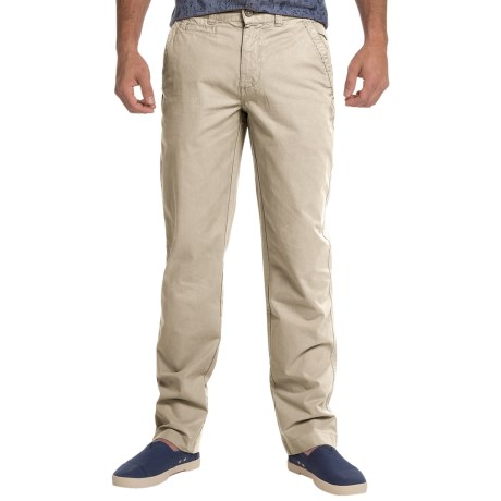 Vintage 1946 Sahara Twill Flat-Front Pants (For Men)