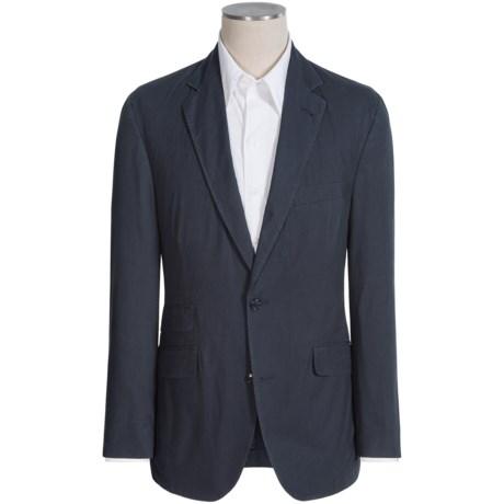 Kroon Sting Washed Navy Sport Coat (For Men)