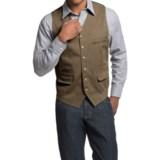 Kroon Hootie Vest - Stretch Cotton (For Men)