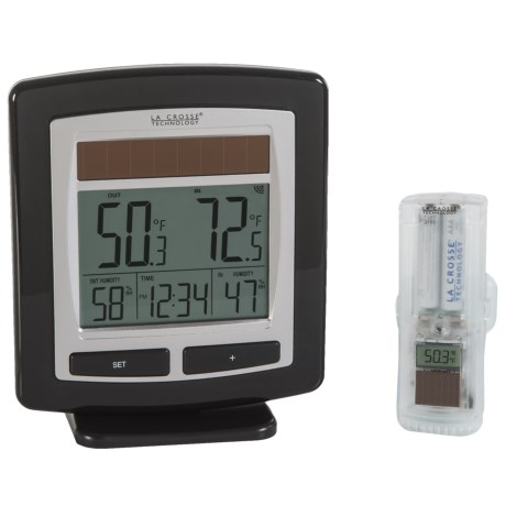 La Crosse Technology Wireless Weather Station and Sensor - Solar Powered
