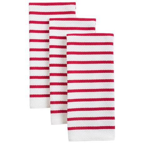 KAF Home Landscape Stripe Kitchen Towels - Set of 3