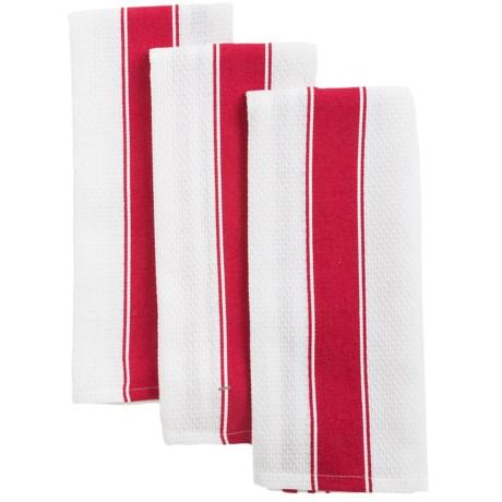 KAF Home Favo Kitchen Towels - Set of 3