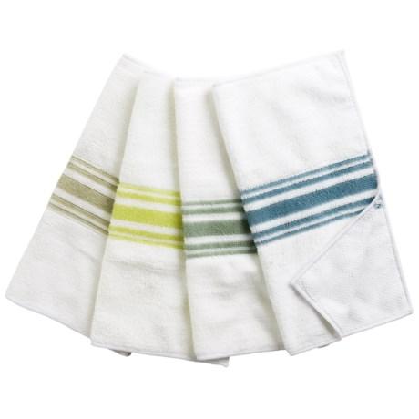KAF Home Microfiber Cloths - Set of 4