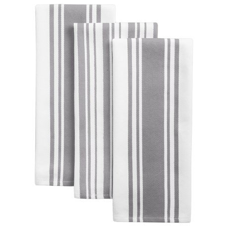 KAF Home Striped Kitchen Towels - Set of 3