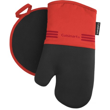 Cuisinart Neoprene Oven Mitt and Pot Holder Set