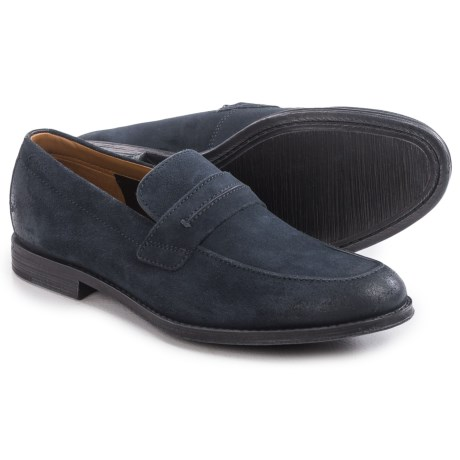 Clarks Hawkley Free Loafers - Suede (For Men)