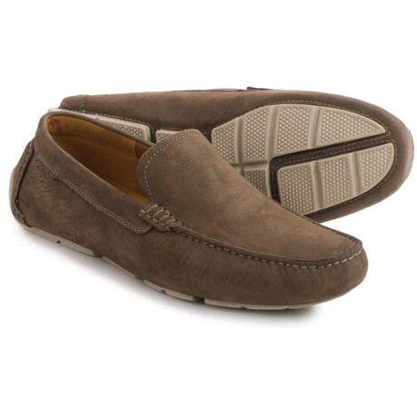 Clarks Davont Drive Shoes - Nubuck, Slip-Ons (For Men)