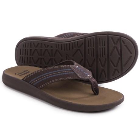 Clarks Beayer Walk Flip-Flops (For Men)