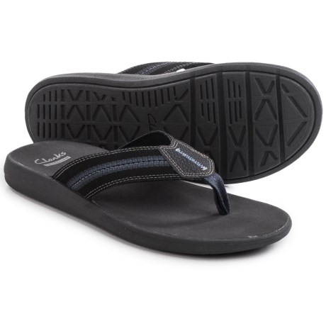 Clarks Beayer Walk Flip-Flops (For Men)