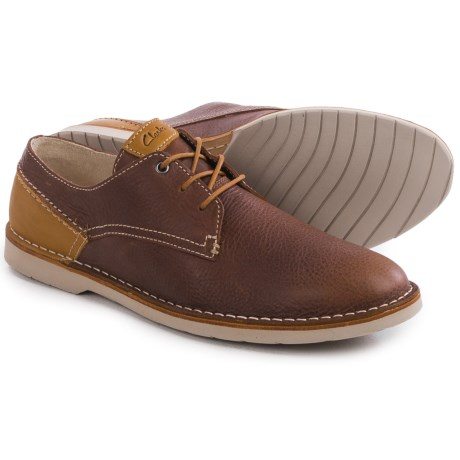 Clarks Hinton Fly Lace Shoes (For Men)