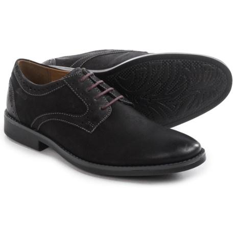 Clarks Garren Plain Toe Oxford Shoes - Leather (For Men)