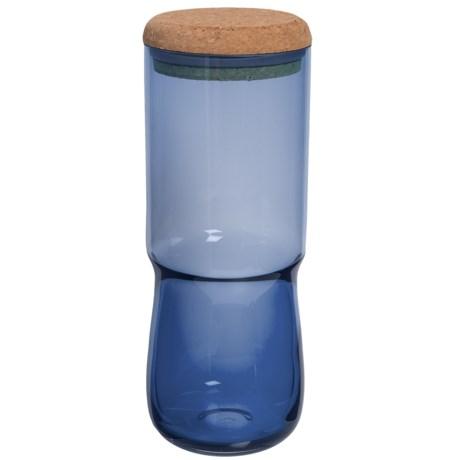 Sagaform SEA Glasbruk Aqua Jar with Cork Lid - Large