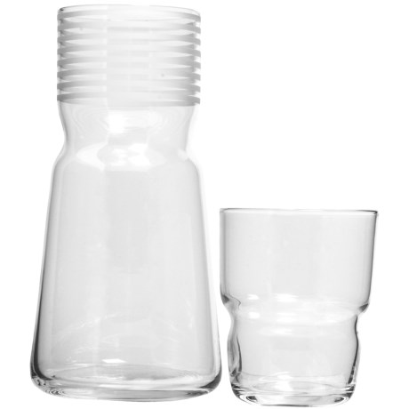 Sagaform Bar Water Carafe with Glass - 2-Piece Set