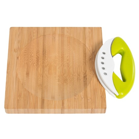 Sagaform Herb Cutter with Bamboo Board
