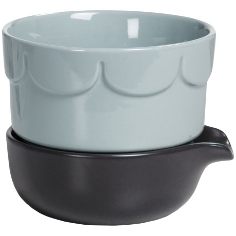 "Sagaform Stoneware Herb Pot - 5-3/8"""