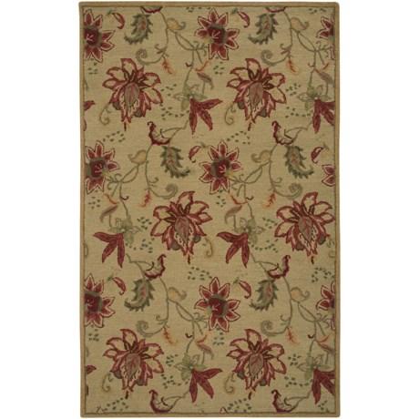Rizzy Home Ashlyn Area Rug - 5x8', Hand-Tufted Wool