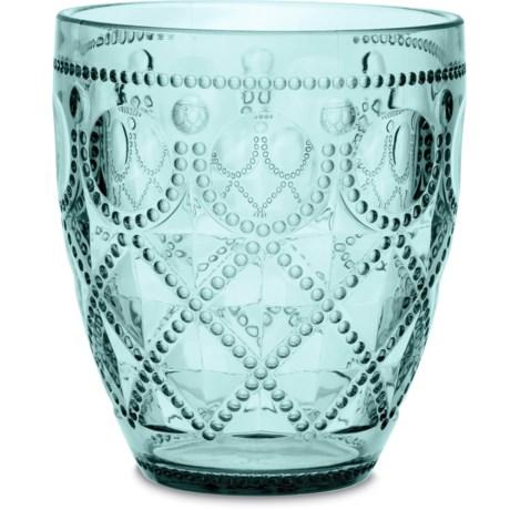 Baci Milano Diamonte Collection Acrylic Water Glass - 13 fl.oz.
