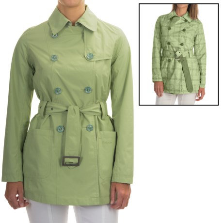 Barbour Ewan Rain Coat - Waterproof, Reversible (For Women)