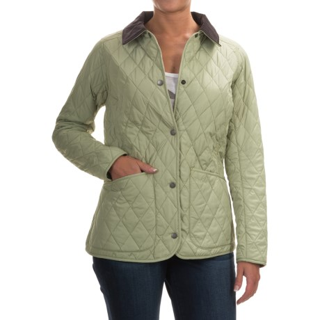 Barbour Ewan Quilted Jacket - Insulated (For Women)
