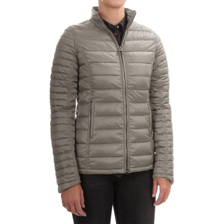 Barbour Clyde Quilted Jacket - FibreDown Insulated (For Women)