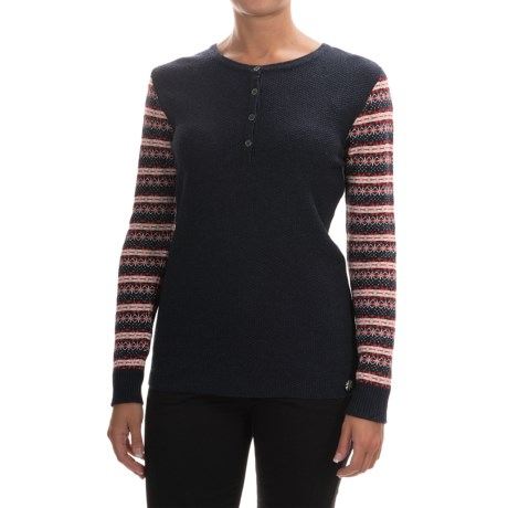 Barbour Landry Knit Sweater - Merino Wool Blend (For Women)