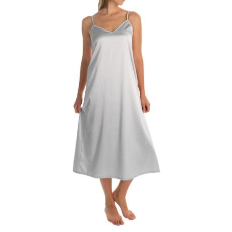 Hanro of Switzerland Long Chemise - Sleeveless (For Women)