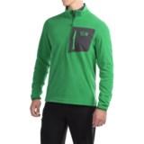 Mountain Hardwear Strecker Lite Fleece Pullover Shirt - Zip Neck, Long Sleeve (For Men)