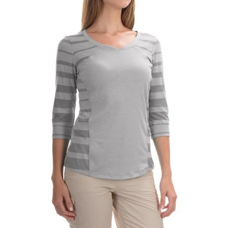Mountain Hardwear DrySpun Wick.Q® Perfect™ Elbow T-Shirt - UPF 25 (For Women)