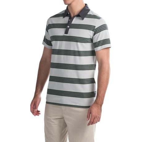 Mountain Hardwear ADL Striped Polo Shirt - Short Sleeve (For Men)